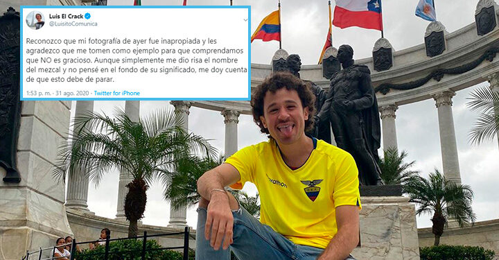 Luisito Comunica reconoce su error tras compartir fotografía machista
