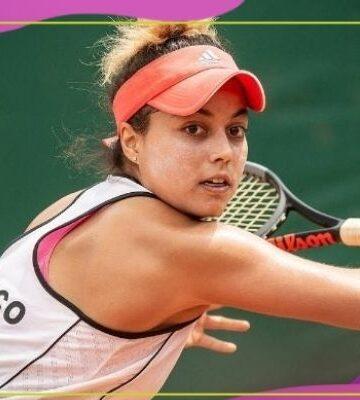Renata Zarazúa: la tenista mexicana que clasificó a Roland Garros