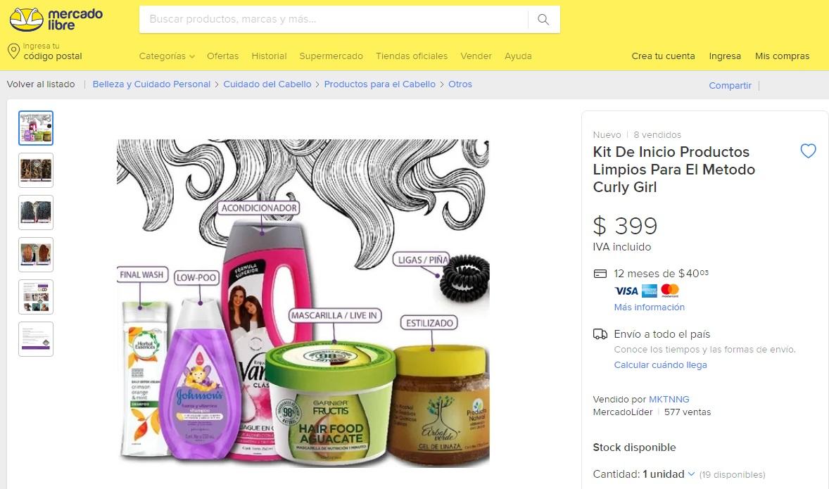 ¿Cuánto cuestan los productos para hacer co-wash?