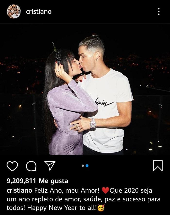 La historia de amor entre Georgina Rodríguez y Cristiano Ronaldo