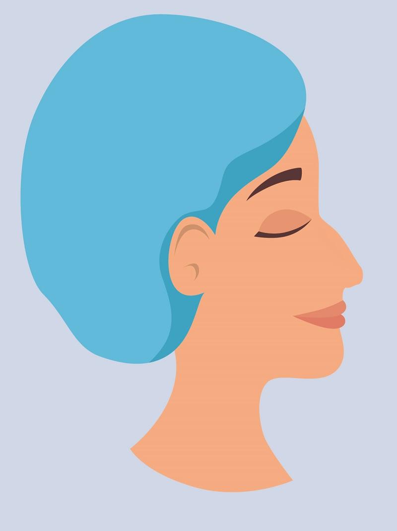 Tipo de nariz aguileña o romana
