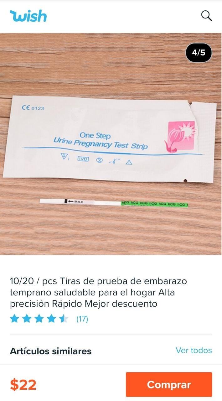 ¿Cuánto cuesta y dónde conseguir una prueba de embarazo?