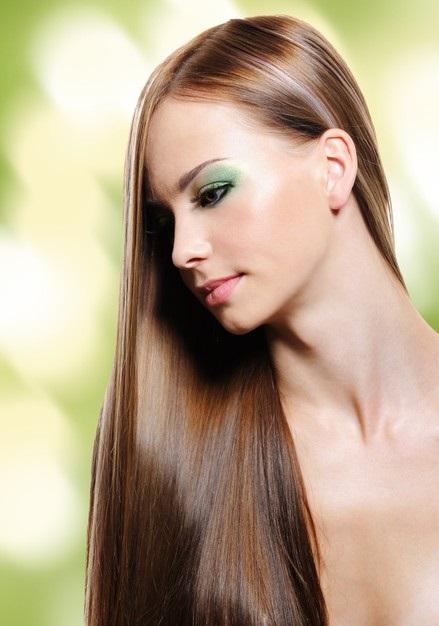 Corte de pelo melena larga y recta