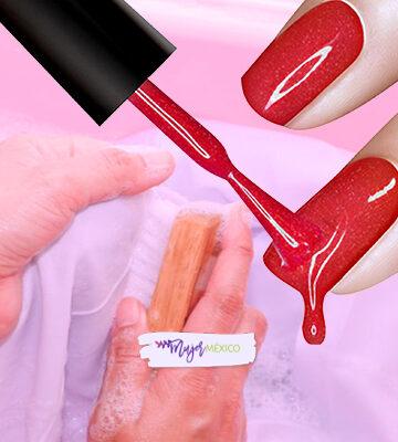 ¿Cómo quitar el esmalte de uñas en la ropa?