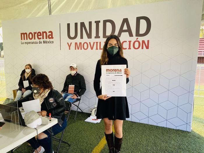 ¿Cómo llegó Andrea Chávez a Morena?