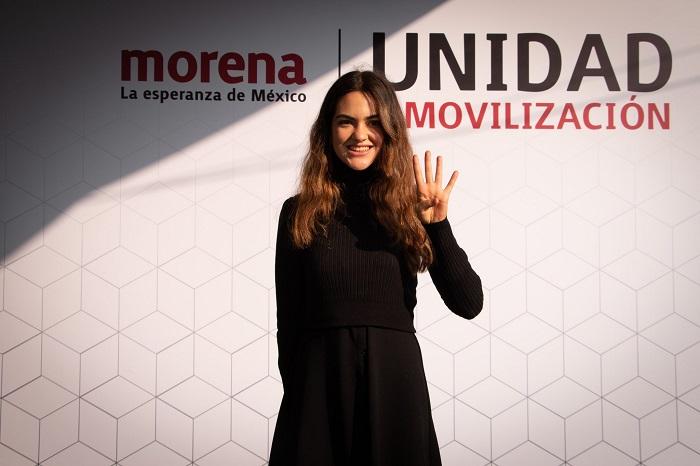 ¿Quién es Andrea Chávez, la joven feminista que busca ser diputada?