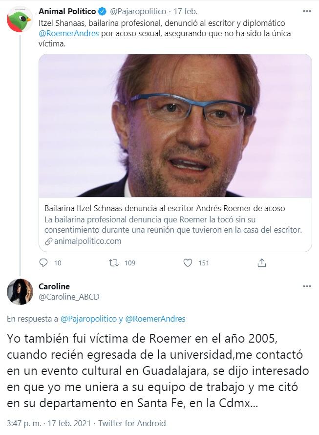 El modus operandi de Andrés Roemer