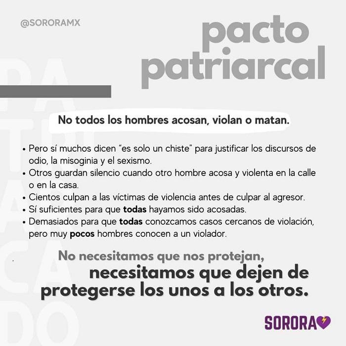 ¿Qué es el pacto patriarcal?