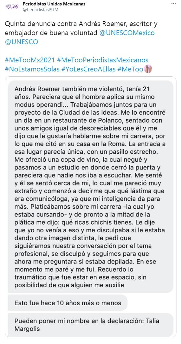 Las acusaciones contra Andrés Roemer