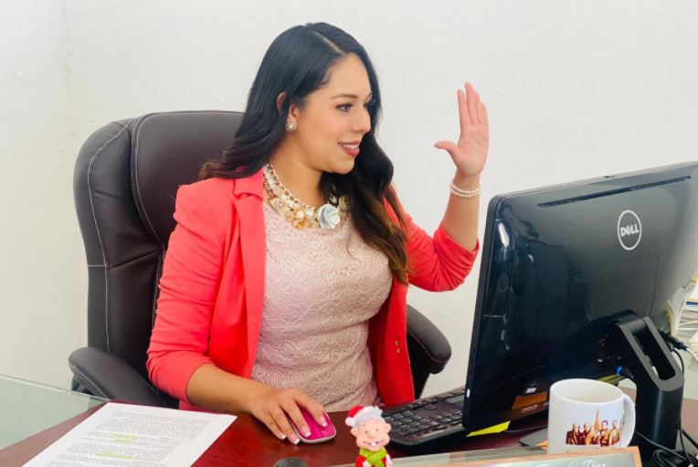 Tonantzin Fernández busca ser alcaldesa de San Pedro Cholula por Morena