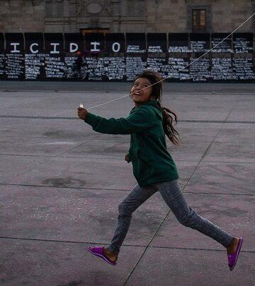 Andrea Murcia, autora de la foto viral de la niña en 'muro de la paz'