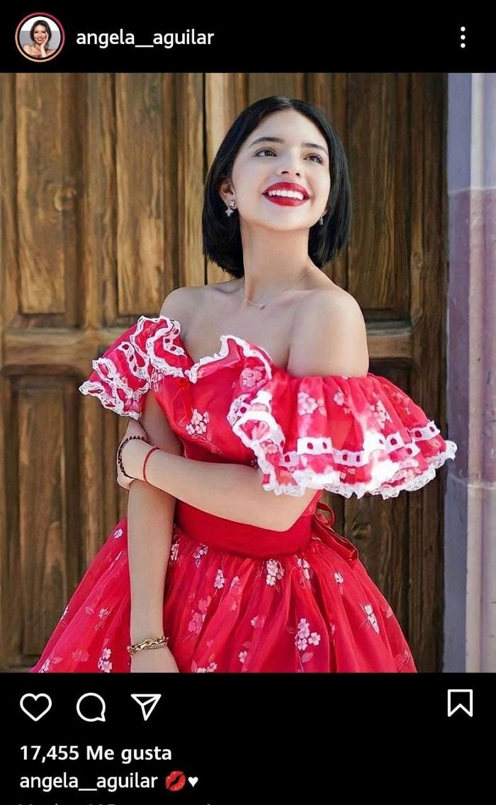 Consejos de maquillaje de Ángela Aguilar