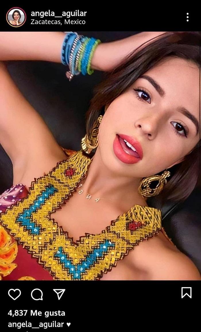 ¿Dónde compra sus vestidos Ángela Aguilar?