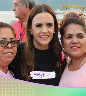 Clara Luz Flores presenta estrategia en apoyo a mujeres de Nuevo León