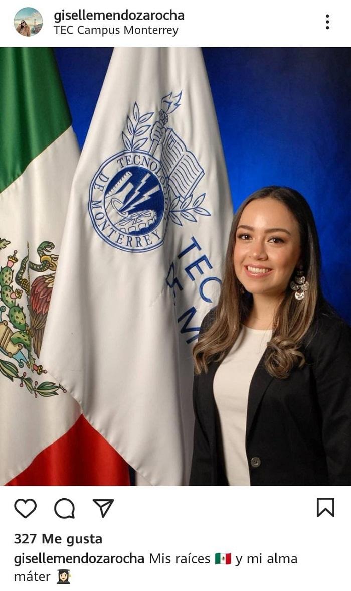 ¿Quién es Giselle Mendoza Rocha?