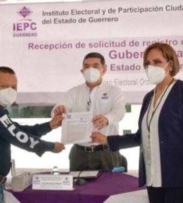 PAN registra a Irma Lilia Garzón como candidata a gobernadora de Guerrero