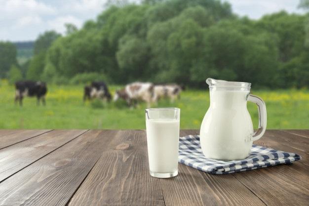¿Qué es mejor la leche de vaca o de almendras?