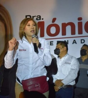 Mónica Rangel inicia campaña rumbo al gobierno de San Luis Potosí por Morena