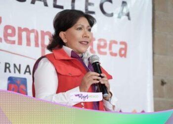 Anabell Ávalos, candidata a gobernadora de Tlaxcala, asume compromisos con el campo