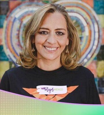 Eréndira Jiménez, candidata a gobernadora de Tlaxcala por MC, promete apoyo a gasolineros