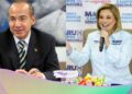 Felipe Calderón muestra respaldo a candidata Maru Campos