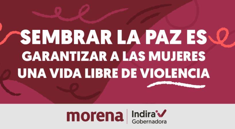 Indira Vizcaíno promete crear casas sororas para mujeres de Colima