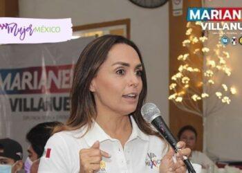 Marianela Villanueva, candidata diputada federal de SLP, promete acceso a la educación
