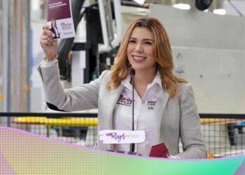 Marina del Pilar, candidata a gobernadora de BC por Morena, presenta plan económico