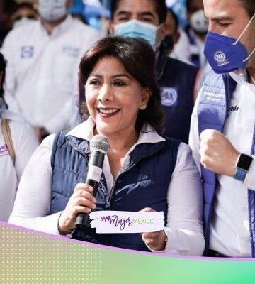 Anabell Ávalos, candidata a gobernadora, promete Secretaría de Cultura en Tlaxcala