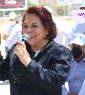 Celia Maya, candidata a gobernadora, promete guarderías gratuitas en Querétaro