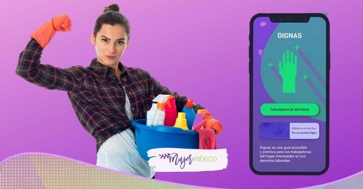 Dignas, la app y calculadora de derechos para trabajadoras del hogar