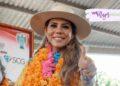 Evelyn Salgado promete llevar agua a zona rural de Acapulco
