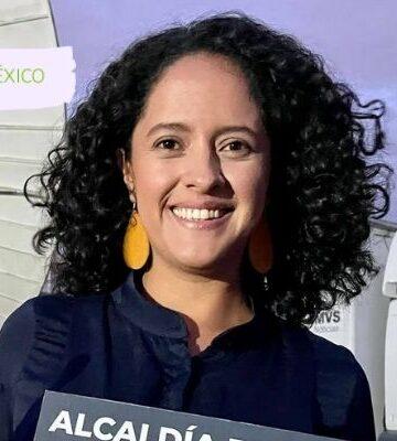 Gaby Osorio, candidata a alcaldesa, lidera preferencias en Tlalpan