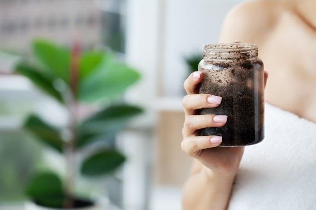 Mascarilla de café antioxidante