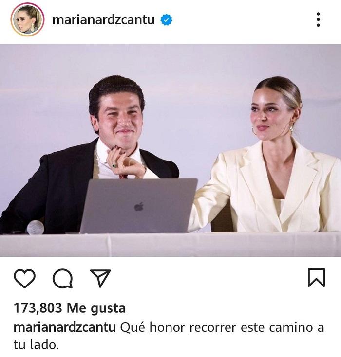 Mariana Rodríguez, detrás de la marca 'Samuel García'