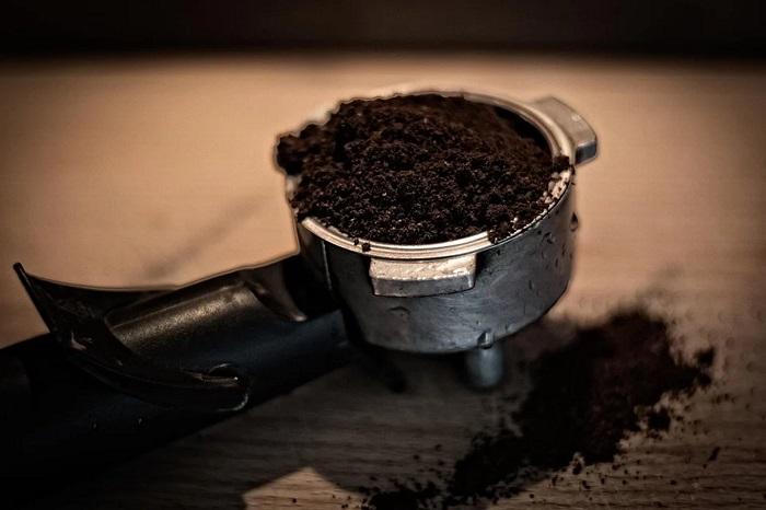 Mascarilla de café para exfoliar