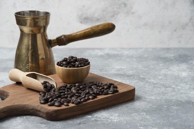 Mascarilla de café para las arrugas