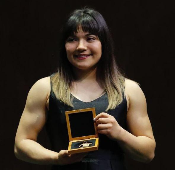 Los reconocimientos a la gimnasta mexicana