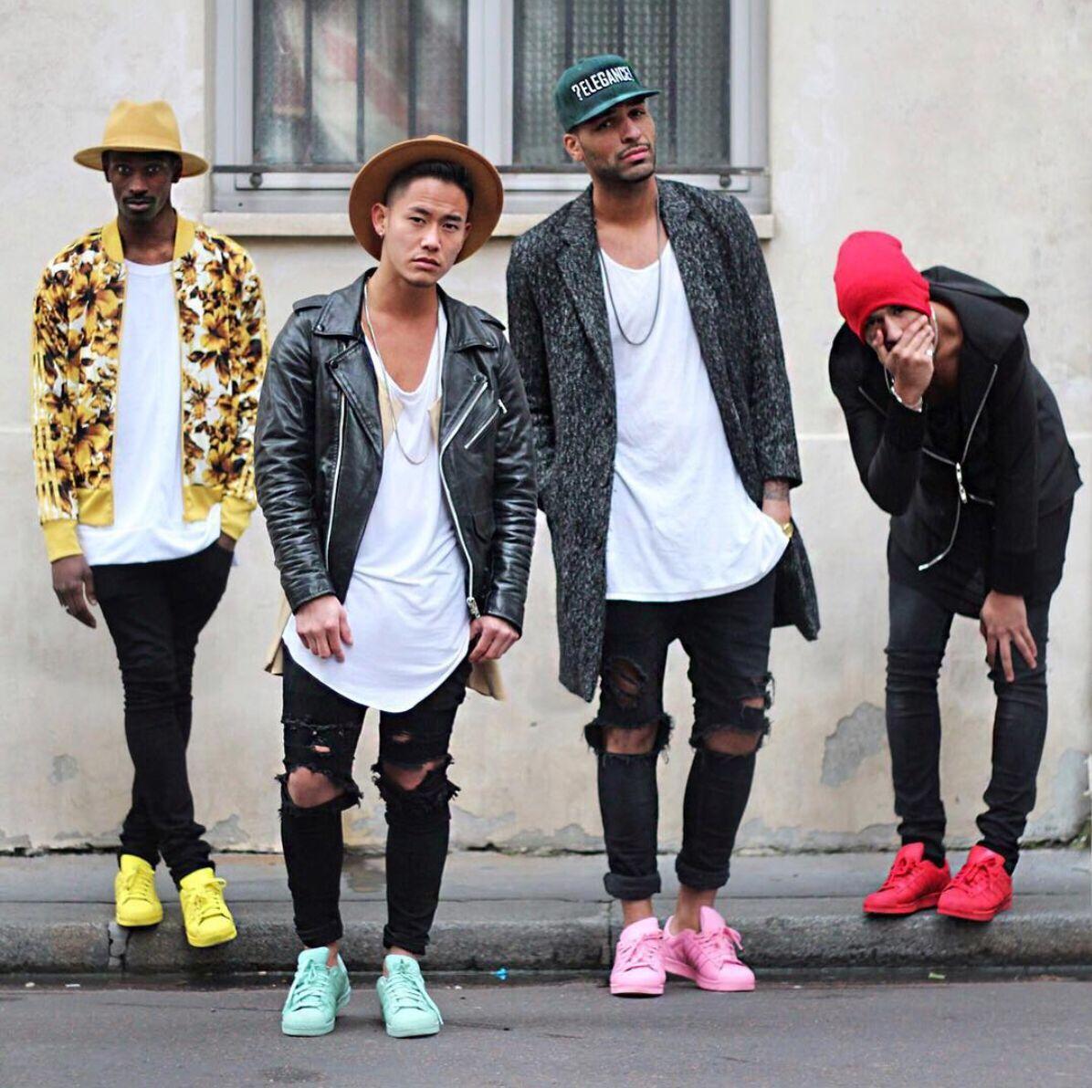 Estilos streetwear rock, hiphop y skate