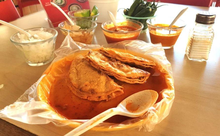 Ingredientes para preparar tacos de barbacoa estilo Guadalajara